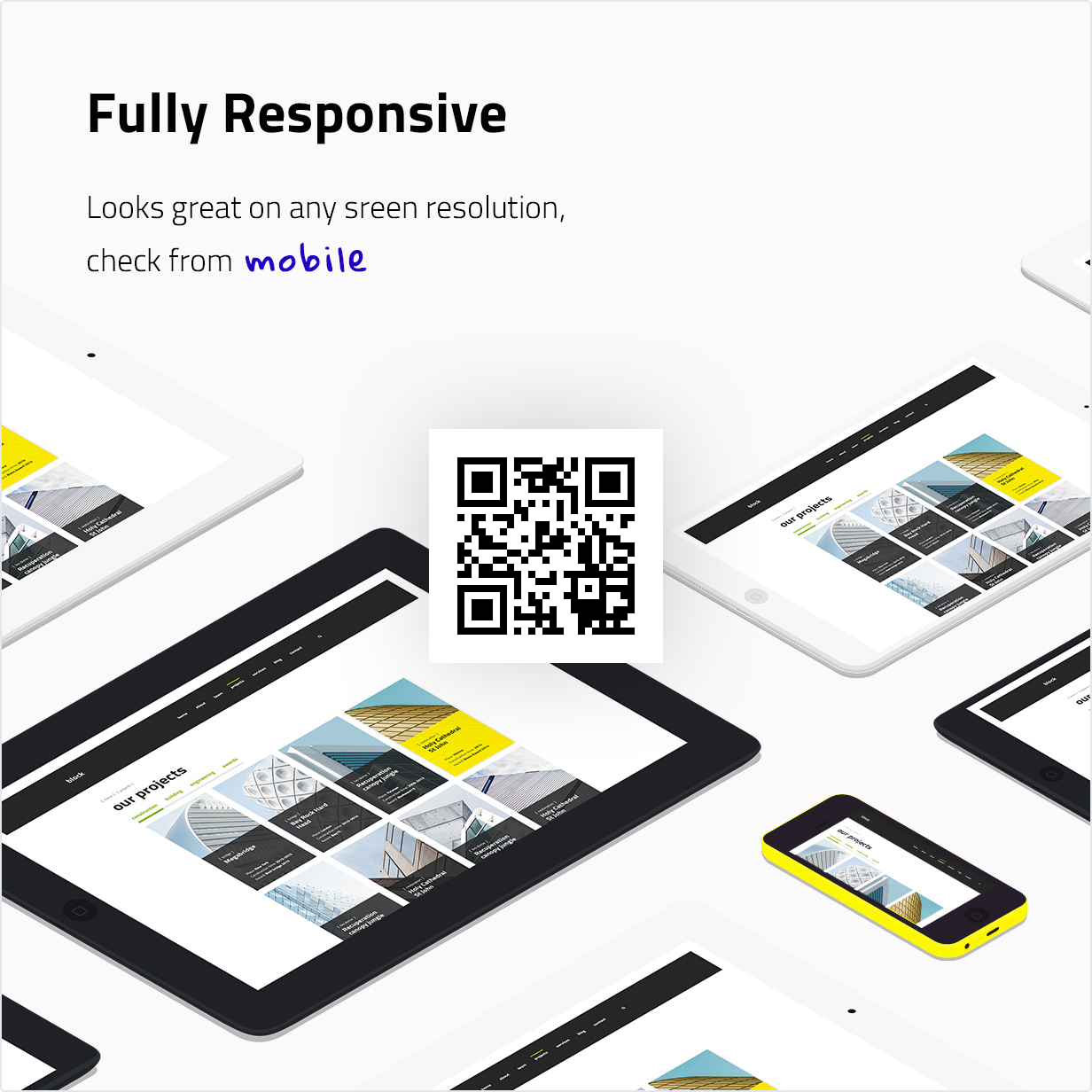 Fully responsive WordPress Theme
