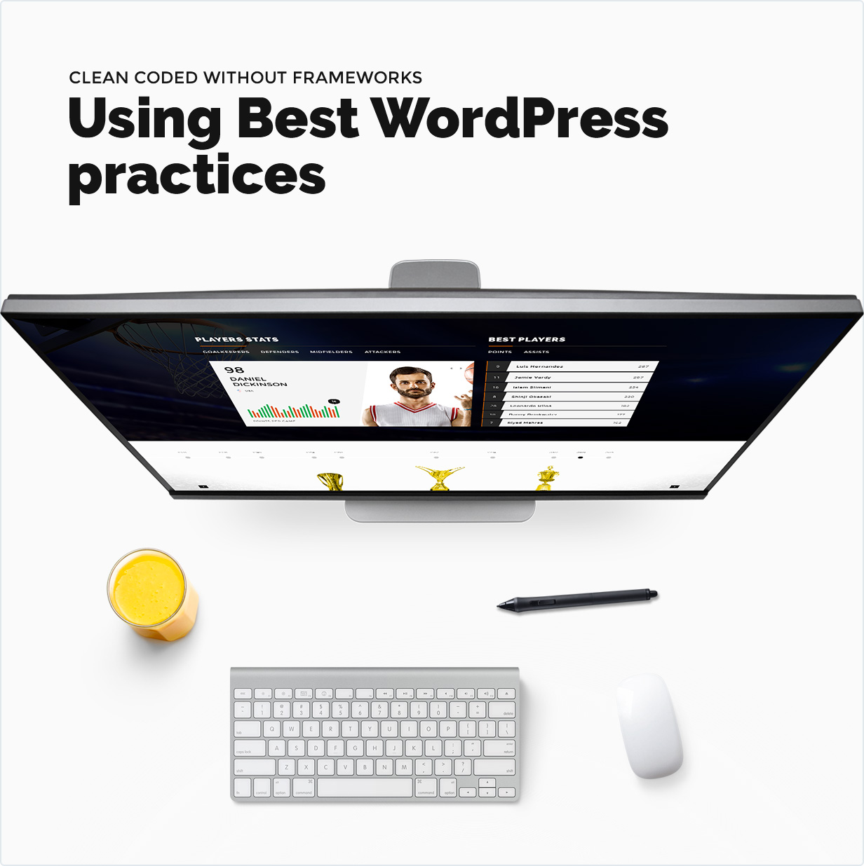 Using best wordpress practices