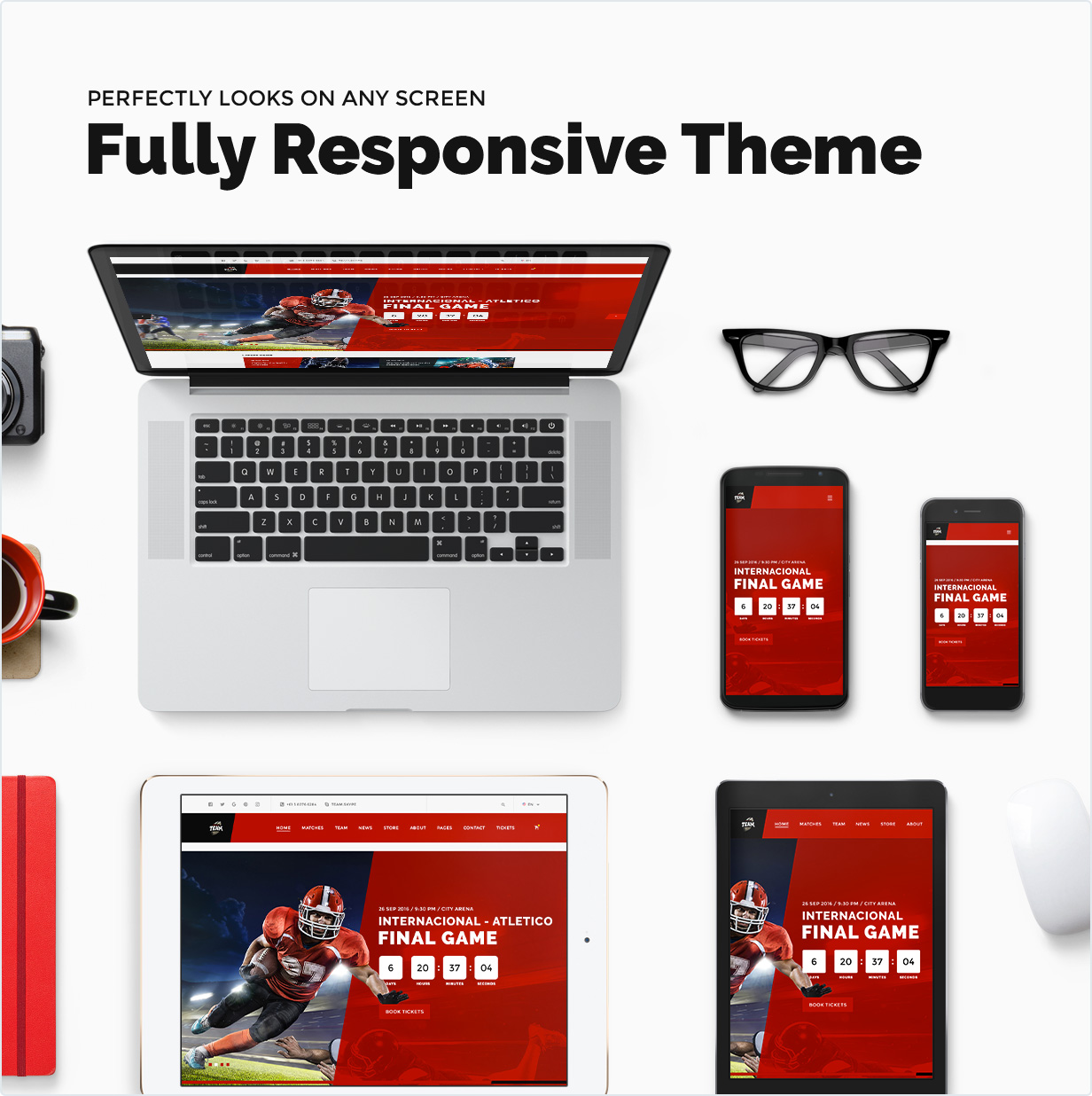 Fully responsive theme