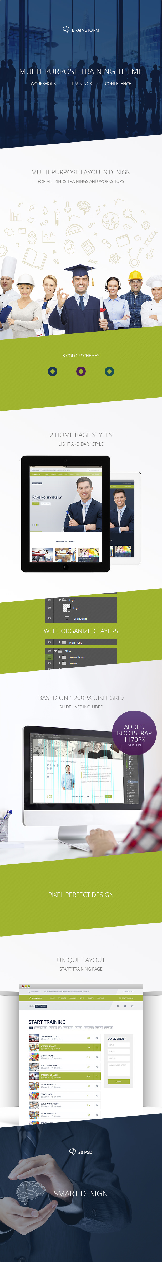 BrainStorm — Multipurpose Event, Training, Workshop PSD Template - 2